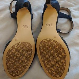Alex Marie Shoes - Navy heels shoes